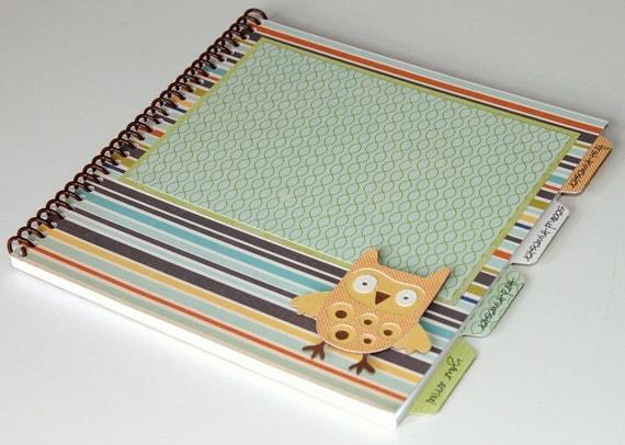 Pregnancy Journal - Gender Neutral Cover Design - OWL