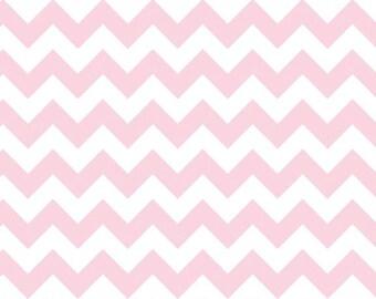 Chevron Baby Pink Small Chevron for Riley Blake, 1/2 yard
