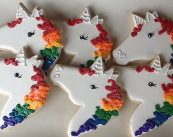 Unicorn Pony Sugar Cookie Collection