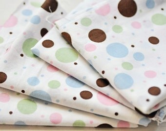 fat quarter fabric polkadots