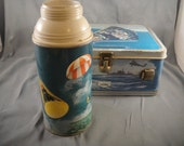 Space Age King Seeley Thermos Lunchbox with Thermos No Lid