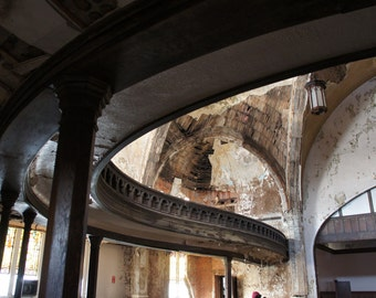 Structure - Fallen Church photography