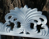 Ornate Mirror in White, ORNATE Wall Mirror, Buy as Shown or Choose Color , Size 32 x 22