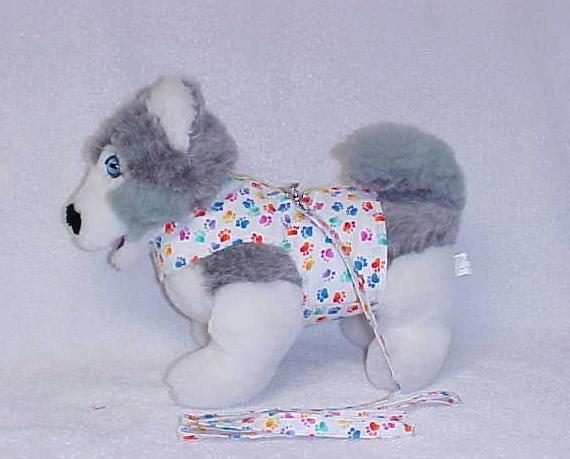 Dog Vest Leash Dog Harness Vest And Matching