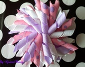 Purple Princess Bubbles Korker Bow