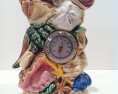 Florida Souvenir Thermometer and Sea Shell Tower Ceramic