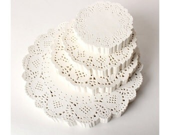 White Doily Paper Set (Select one)