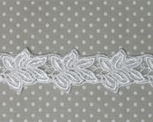 CLEARANCE Venice Lace Leaves Small Venise Leaf Trim Crazy Quilting