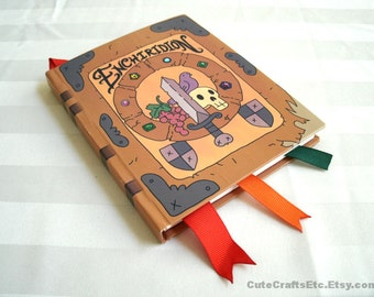 The Enchiridion - Medium Adventure Time Book (MADE to ORDER within 7 days)