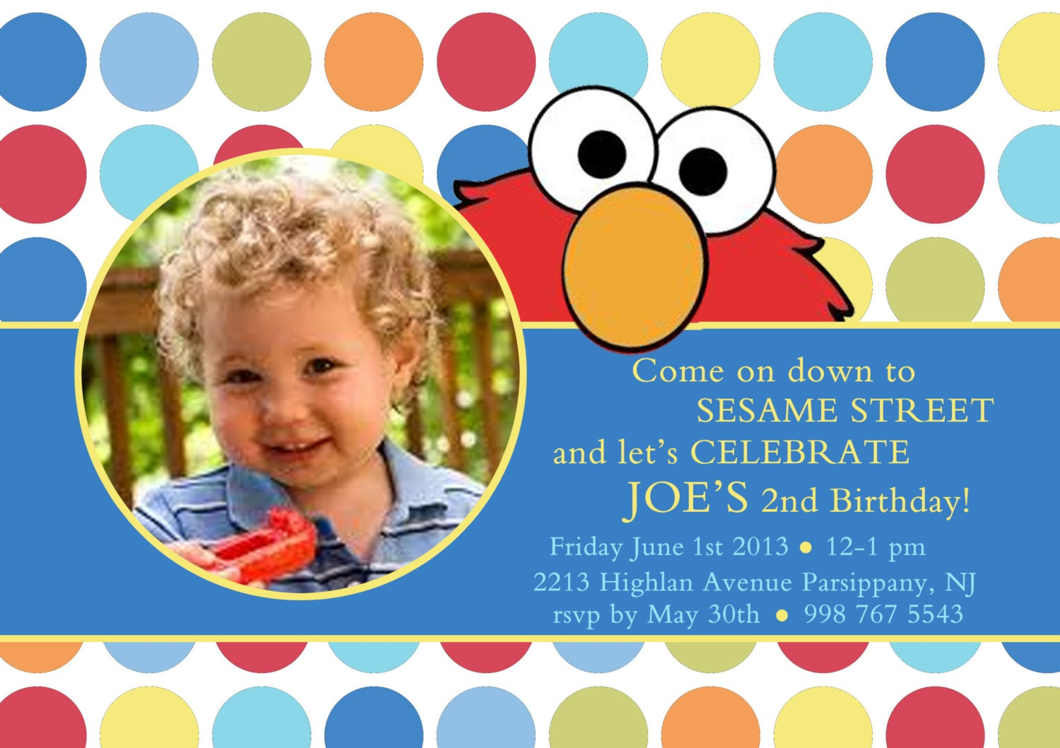 Elmo 1St Birthday Invitations could be nice ideas for your invitation template