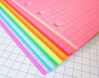 Grid or Dot Grid Planner Paper, 54 Sheets