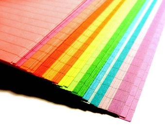 Lined Planner Paper, 54 Sheets