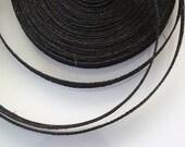 Sinamay Bias Binding 1cm Wide and 2 mtrs long - Black