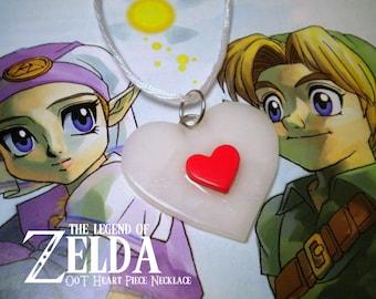 Ocarina of Time Heart Piece Necklace - Legend of Zelda - Nintendo
