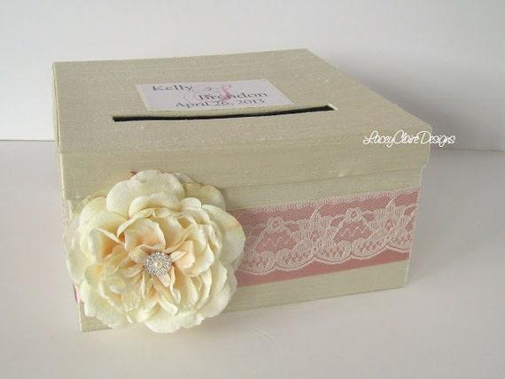 Wedding Card Box Custom Money Box Holder Custom Made