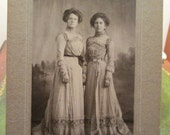 Cabinet Photo Women of Wakarusa , Indiana - Lovely Victorian Dresses