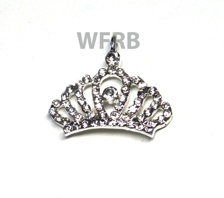 Princess Crown Charm Pendants Tiara by wholesaleflowers on ...