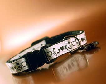 Panda Breakaway Cat Collar