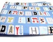 Birthday Fabric, Happy Birthday Word Fabric, Michael Miller Fabric, Last Yard