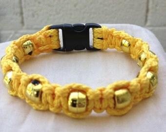 Accent, Macrame Bracelet (Gold)