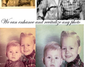 Professional Photo Restoration  Special Etsy Pricing