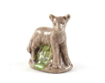 Wade Whimsies - Lamb - Miniature Figurine 1970s