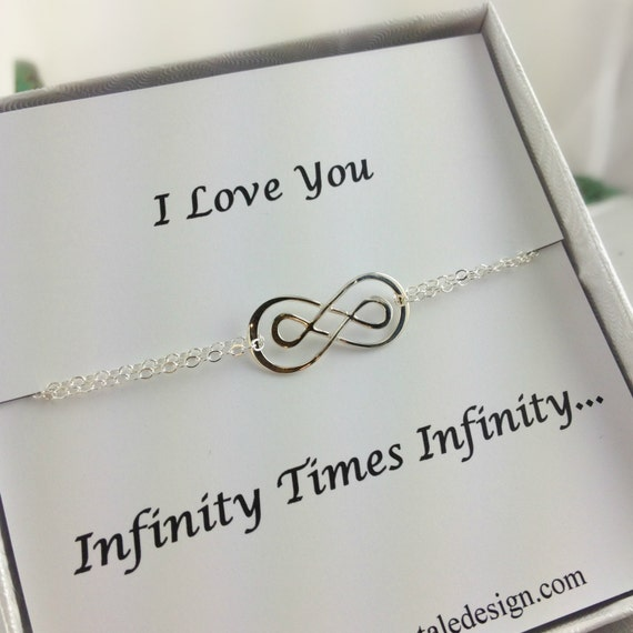 bracelet infini double infini bracelet par anatoliantaledesign. Black Bedroom Furniture Sets. Home Design Ideas