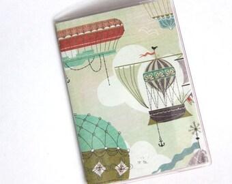 PASSPORT COVER - Steampunk Hot Air Balloons
