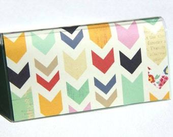 CHECKBOOK COVER - Mix and Match Chevrons