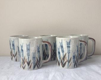 vintage otagiri japanese mugs
