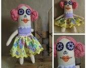 ABIGAIL Sugar Skull Art Doll