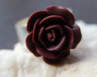 Rockabilly Romantic Rose Ring