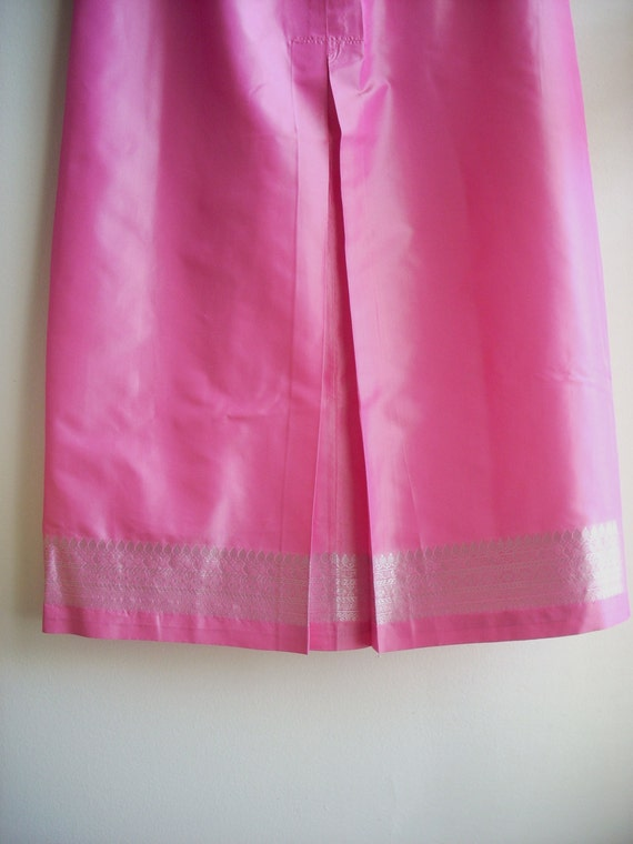 Free shipping, special design skirt, wedding summer silk skirt, 100% silk skirt, long skirt, gift for mom girl, hand made skirt