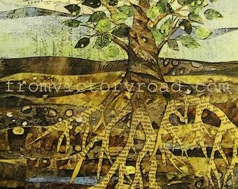 Deep Roots Citra Solv art print 11 x 14