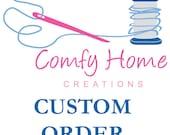 Custom Listing for Adam