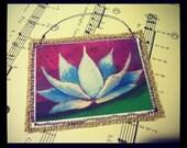 Mini Canvas/Burlap Stitch Ornament