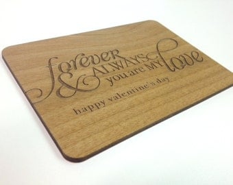 You Are My Love Wooden Valentine