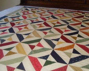 Geometric Lap Quilt