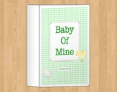 Green Pregnancy Journal, printable