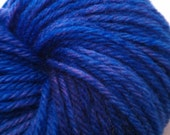 On Sale- 40% off- Sapphire Sky - Andrea - hand dyed yarn - OOAK
