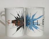 Ceramic Mug with a Fragile Design