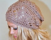 Special listing for Jennifer - Summer Slouchy Beanie In Camel color