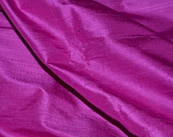 Silk Dupioni in Pink purple.Fat quarter-D155