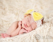 Baby headband, newborn headband, adult headband, child headband and photography prop The single sprinkled- Candy bow headband