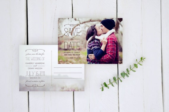 Save the Date Postcards