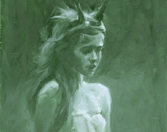 Spirit - Oil Painting - Limited Edition Print