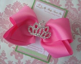 Girl hair clips - princess hair clips - birthday hair clips - girl barrettes
