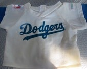 Cabbage Patch 16 inch doll clothes  LA Dodgers 1985 NLB uniform top and bottom