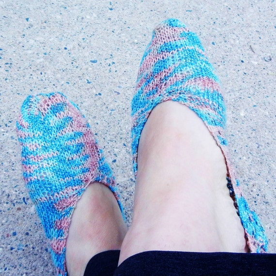 Knitting Patterns Footie Socks : Footie Sock Knitting PDF Pattern, customize to fit your ...