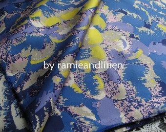 "Silk fabric, silk twill fabric, pure mulberry silk fabric, dress fabric, half yard by 44"" wide"